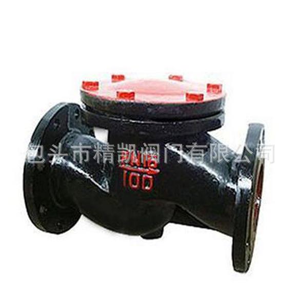 供热管道包头欧宝体育客户端官方下载厂家 H41T H41W 铸铁法兰升降式止回阀