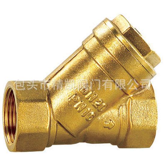 天然气配套欧宝体育客户端官方下载厂家 GL41W-10T/16T 黄铜丝扣内螺纹过滤器