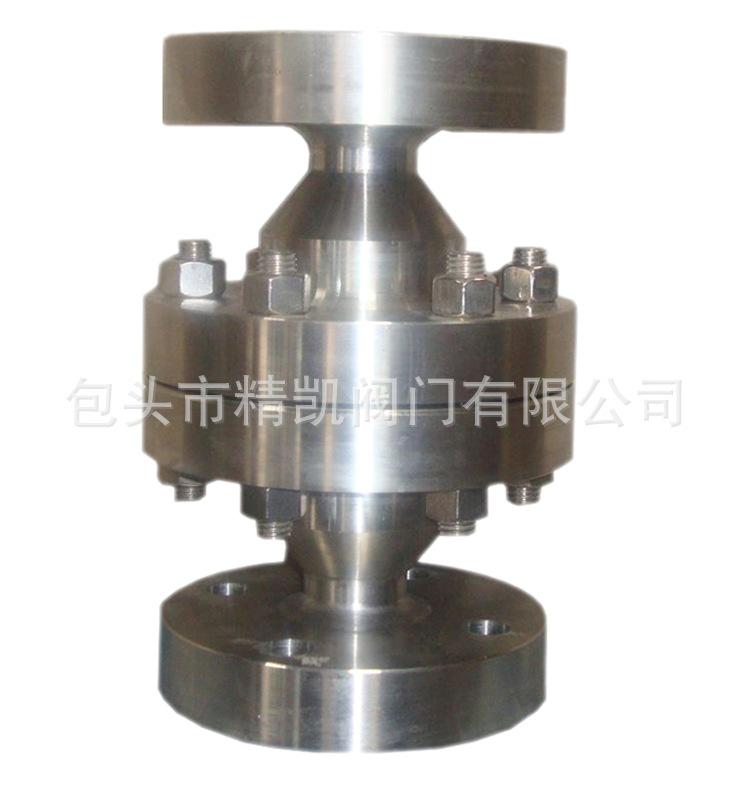 石油储罐 GZW锻造防爆燃型高压管道阻火器 PN160