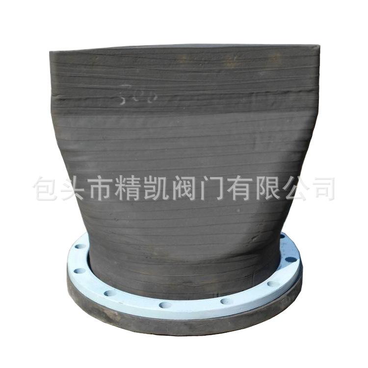 内蒙XH41A法兰式橡胶缓闭排污止回阀 背压式柔性止逆阀 鸭嘴阀